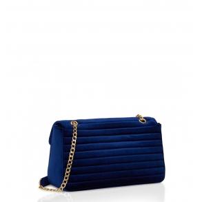Τσάντα N22 AI19NCI00868 Μπλε Βελουτέ