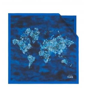 Φουλάρι ALVIERO MARTINI K3470 Μπλε