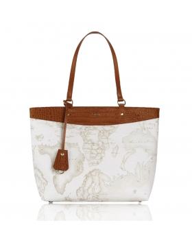 Τσάντα ALVIERO MARTINI 1A CLASSE LGO76 Λευκο
