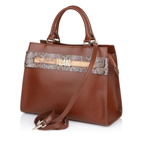 Τσάντα ALVIERO MARTINI 1A CLASSE LGP85 Καφέ
