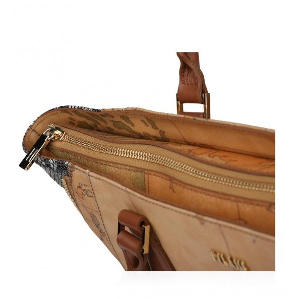 Τσάντα ALVIERO MARTINI 1A CLASSE LGQ53 Ταμπά/Γκρι