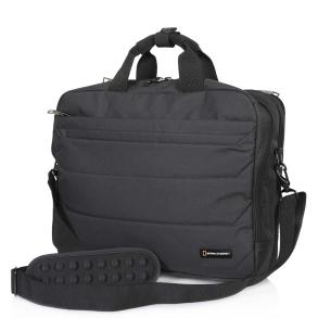 Τσάντα ταχυδρόμου NATIONAL GEOGRAPHIC N00708 Μαύρο