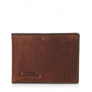 Πορτοφόλι NATIONAL GEOGRAPHIC N148502 Καφέ