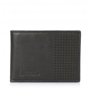 Πορτοφόλι NATIONAL GEOGRAPHIC N148502 Μαύρο