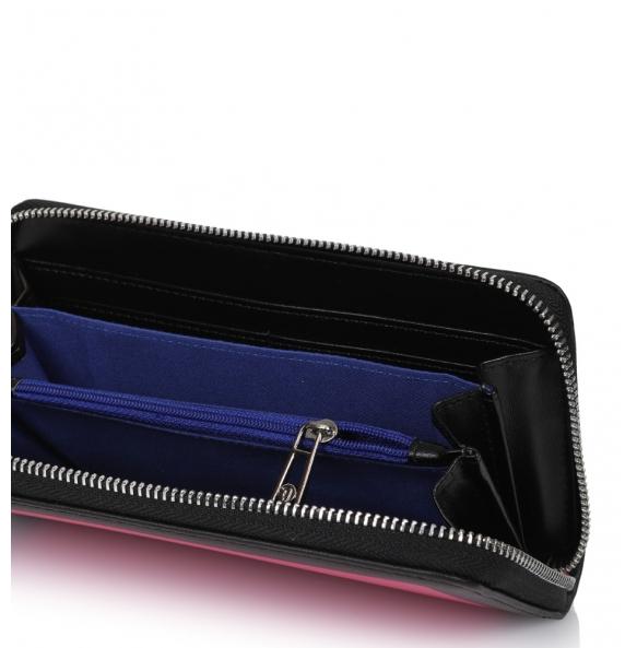 Πορτοφόλι TRUSSARDI JEANS 75W0138 Φούξια