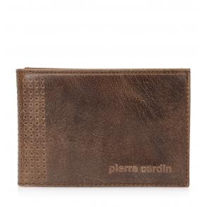 Πορτοφόλι PIERRE CARDIN PC1247 Καφέ