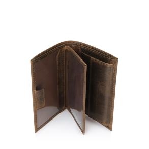 Δερμάτινο πορτοφόλι PIERRE CARDIN PC1248 Καφέ