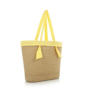 Τσάντα LE PANDORINE PE20DBR02523 Κίτρινο