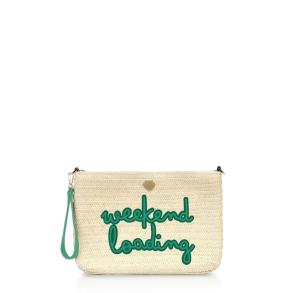 Τσάντα LE PANDORINE PE21DBQ02812 Canella Pochette Πράσινο