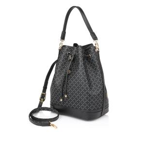 Τσάντα La Tour Eiffel 10075L Μαύρο