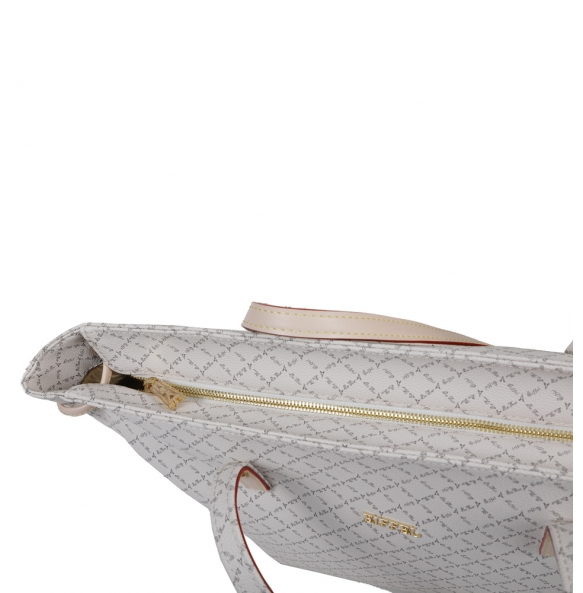 Τσάντα La Tour Eiffel 111093-3SB Λευκή