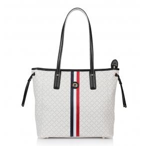 Τσάντα La Tour Eiffel 151006-1XD Λευκή