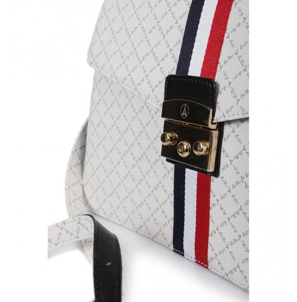 Τσάντα La Tour Eiffel 171033-3AD Λευκή
