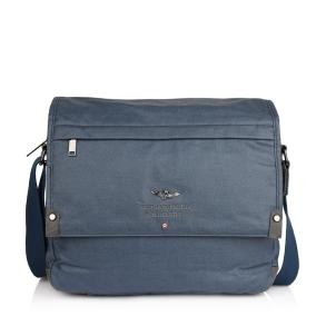 Τσάντα AERONAUTICA MILITARE AM-333 Μπλε