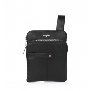 Τσάντα AERONAUTICA MILITARE AM390 Μαύρο