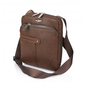 Τσάντα AERONAUTICA MILITARE AM391 Καφέ