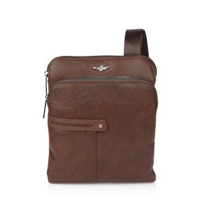 Τσάντα AERONAUTICA MILITARE AM392 Καφέ