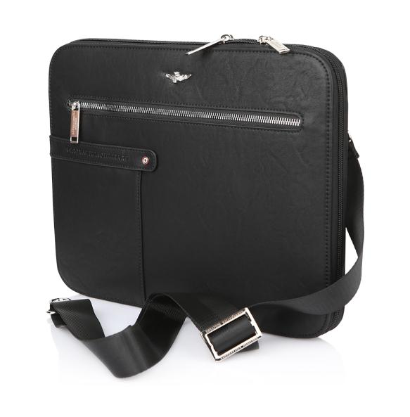 Τσάντα AERONAUTICA MILITARE AM394 Μαύρο