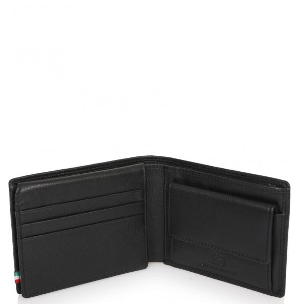 Πορτοφόλι AERONAUTICA MILITARE AM103 Μαύρο