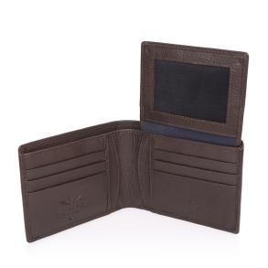 Πορτοφόλι AERONAUTICA MILITARE AM-133 Καφέ