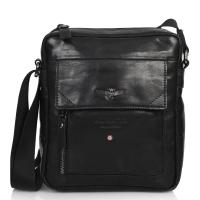 Τσάντα AERONAUTICA MILITARE 303 Μαύρο