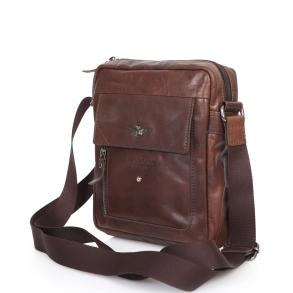Τσάντα AERONAUTICA MILITARE 303 Καφέ