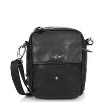 Τσάντα AERONAUTICA MILITARE 307 Μαύρο