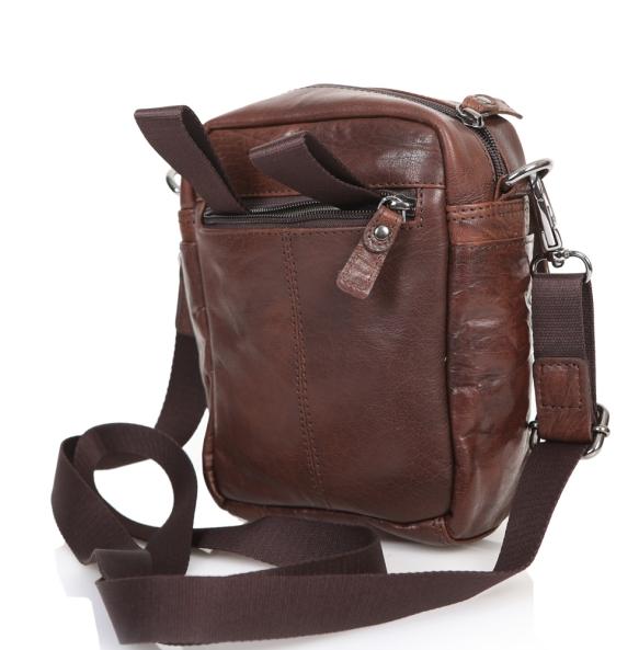 Τσάντα AERONAUTICA MILITARE 307 Καφέ