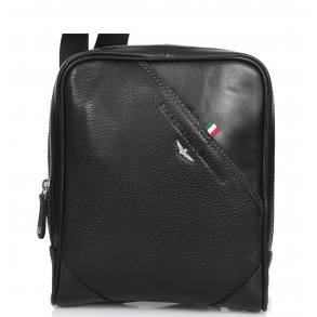 Τσάντα AERONAUTICA MILITARE AM-310 Μαύρο
