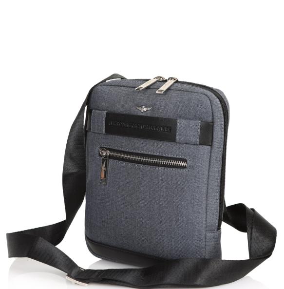 Τσάντα AERONAUTICA MILITARE 320 Γκρι