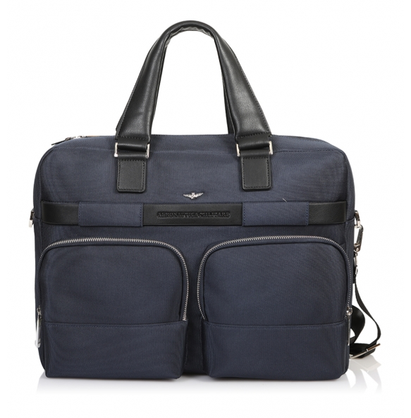 Τσάντα AERONAUTICA MILITARE AM-322 Μπλε
