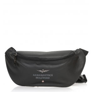 Τσάντα AERONAUTICA MILITARE AM-330 Μαύρο
