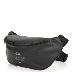 Τσάντα AERONAUTICA MILITARE 330 Μαύρο