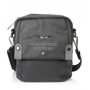 Τσαντάκι AERONAUTICA MILITARE AM331 Μαύρο
