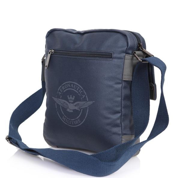 Τσάντα AERONAUTICA MILITARE AM-332 Μπλε