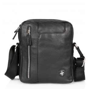 ae45e851e0 Τσάντα χιαστί POLO BH1162 Μαύρο ...
