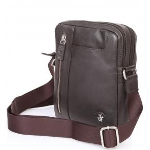 Τσάντα χιαστί POLO BH1162 Καφέ