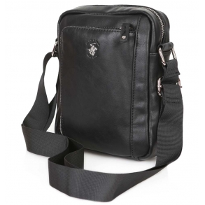 Τσάντα χιαστί POLO BH1182 Μαύρο