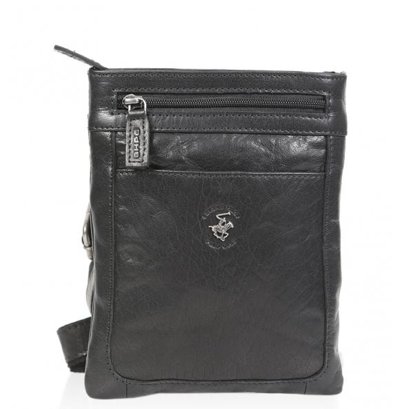 Τσάντα χιαστί POLO BH1333 Μαύρο