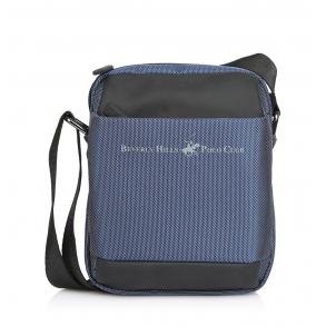 Τσάντα BEVERLY HILLS POLO CLUB BH1390 Μπλε