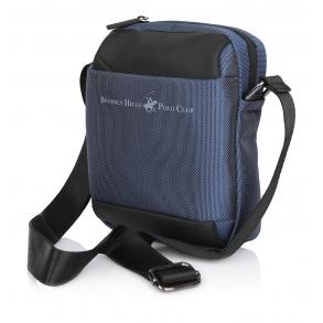 Τσάντα BEVERLY HILLS POLO CLUB BH-1390 Μπλε