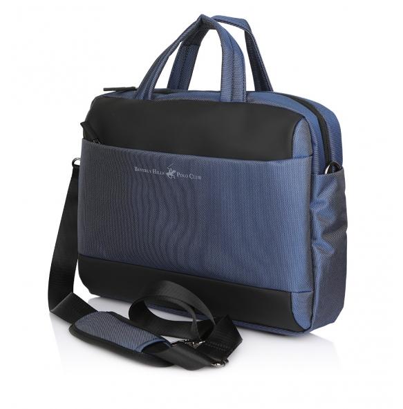 Τσάντα BEVERLY HILLS POLO CLUB BH1392 Μπλε