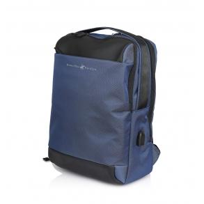 Σακίδιο BEVERLY HILLS POLO CLUB BH-1393 Μπλε