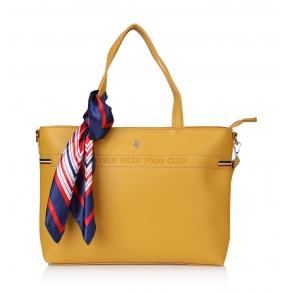 Τσάντα BEVERLY HILLS POLO CLUB BH-2131 Κίτρινο