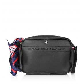 Τσάντα BEVERLY HILLS POLO CLUB BH-2134 Μαύρο