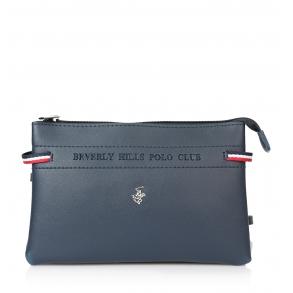 Τσάντα BEVERLY HILLS POLO CLUB BH-2135 Μπλε
