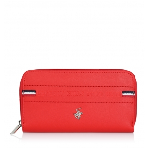 Πορτοφόλι BEVERLY HILLS POLO CLUB BH-2138 Κόκκινο