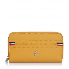 Πορτοφόλι BEVERLY HILLS POLO CLUB BH-2138 Κίτρινο
