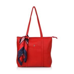 Τσάντα BEVERLY HILLS POLO CLUB BH2410 Κόκκινο