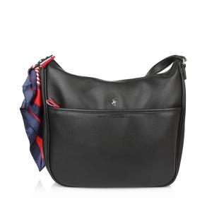 Τσάντα BEVERLY HILLS POLO CLUB BH2412 Μαύρο